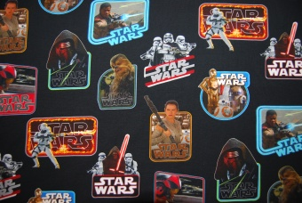 Star Wars Stickers digitalt tryck