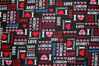 I love London bomull