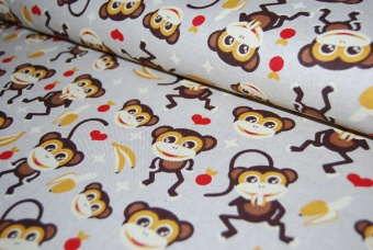 Happy monkey linneliknande