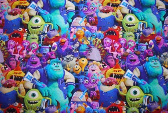 Pixar Monster University digitalt tryck