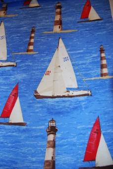 Segelbåtar vävt