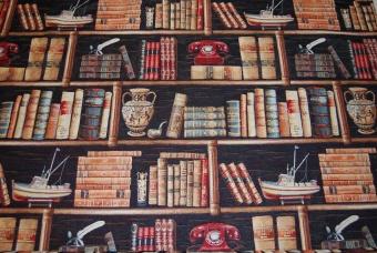 Bibliotek gobeläng