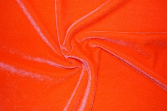 Festvelour orange