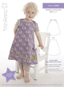 MiniKrea 20004 Spencer klänning 1-3 år