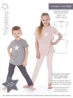 MiniKrea 33202 T-shirt 3-12 år
