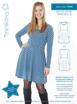MiniKrea 70045 Jerseyklänning 34-50