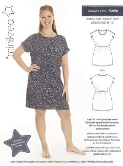 MiniKrea 70050 Dolmanklänning 34-50