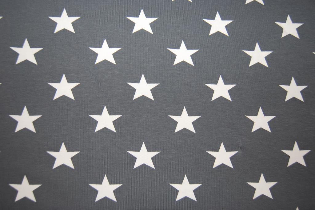 tyg med stjärnor