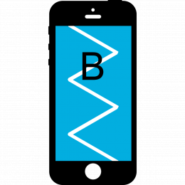 Laga iPhone 8 Plus Skärm Display – Klass B –  Svart