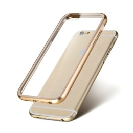 Bumper Metall iPhone 6/6S Svart