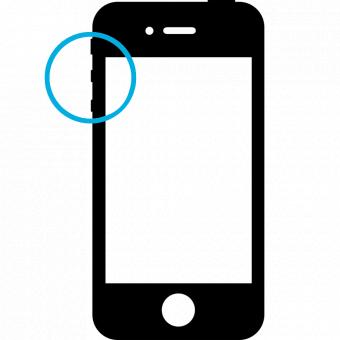 iPhone 4s Volym/Mute/Hörlursuttag