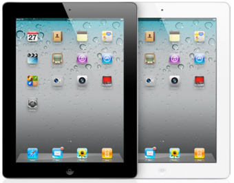iPad 2 Display Svart