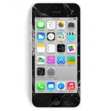 iPhone 5C Skärmbyte OEM Svart