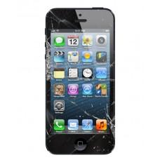 iPhone 5 Skärmbyte Replika Svart