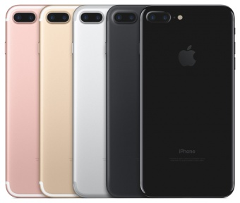 Byt iPhone 7 Baksida – Svart
