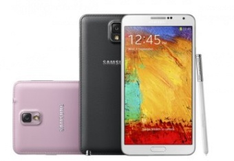 Samsung Galaxy Note 4 Skärm Vit