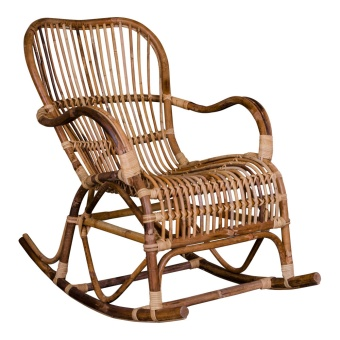 Celta Rocking Chair - Gungstol i naturlig rotting
