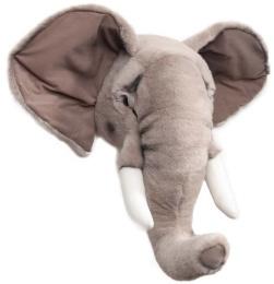 Djurhuvud Elefant