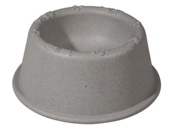 Kitty Bowl - Stone Grey