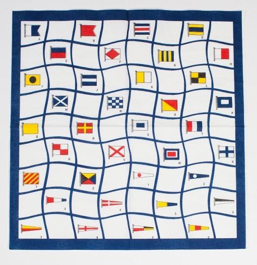 Servetter Signalflagg