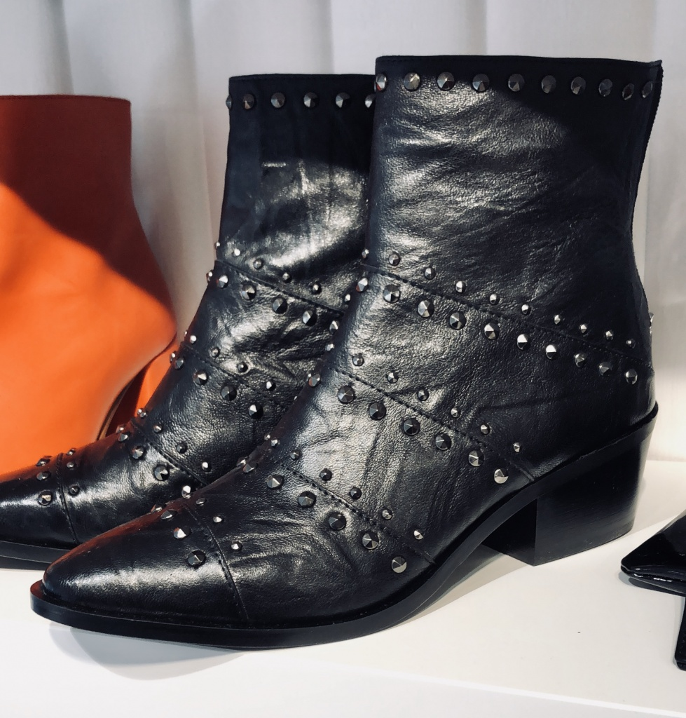 Apair Terry Nero Boots