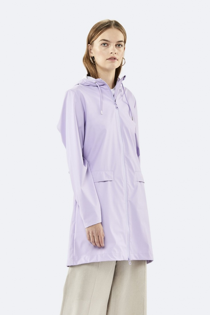 Rains W Coat Lavendel