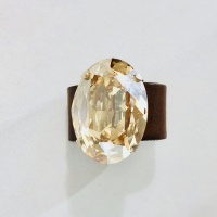 Tulsi Champagne Oval Ring
