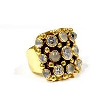 Kumkum Cookie Guld Ring