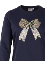 Saint Tropez Bow Sweatshirt