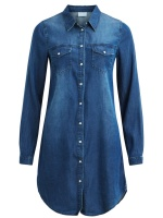 Vila Vibista Denim Dress
