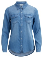 Vila Vibista Denim Shirt