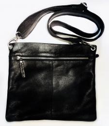 Black colour Rock square bag black
