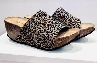 Cream Paris Wedges-Sandal