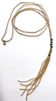 Icon Bead Tassel Halsband
