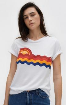 Rodebjer Ninja Sunrise T-shirt