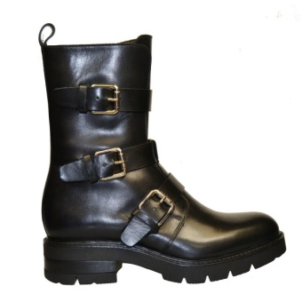 Apair Boot Vitello Nero