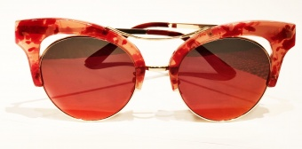 WOS Bey Red Solglasögon