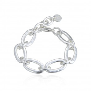 Bud To Rose Choice Bracelet Silver