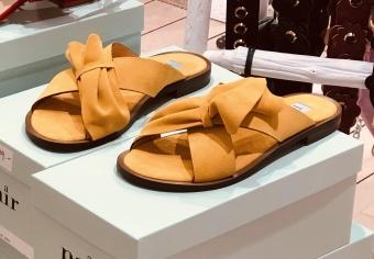 Apair Half Bootie Flat Sandal