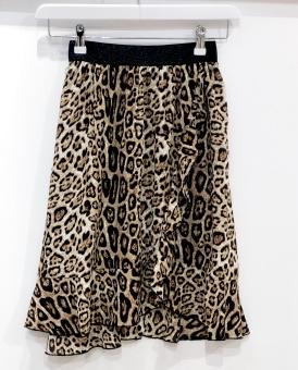 Saint Tropez Leopard Skirt
