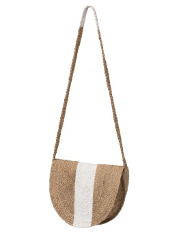 Yaya Small Rattan Shoulder Bag