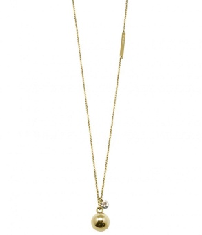 Bud to rose Quincy Guld Halsband
