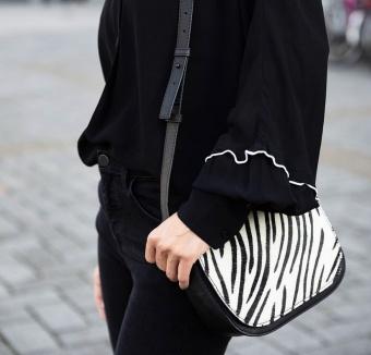 YAYA Crossbody Zebra Bag