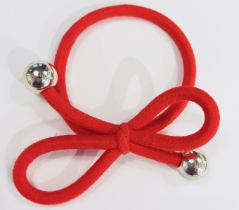 Ia Bon Snodd Armband Röd