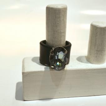 Tulsi Blå Oval Ring