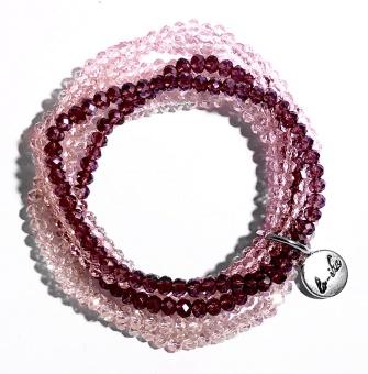 Lo-ika Indra Rosa Armband