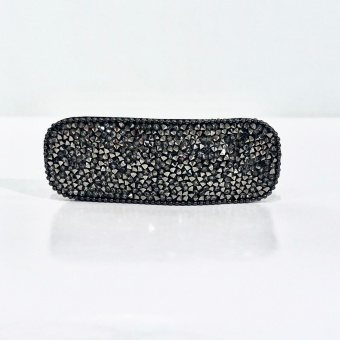 Black Colour Rabia Hairclip Stone