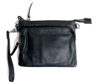 Black Colour 2in1 Walletbag