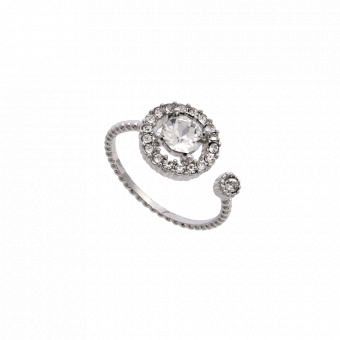 Lily & Rose Miranda Crystal Ring