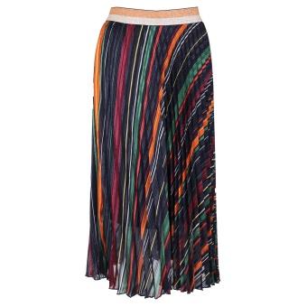 Neo Noir Vera Plisse Skirt